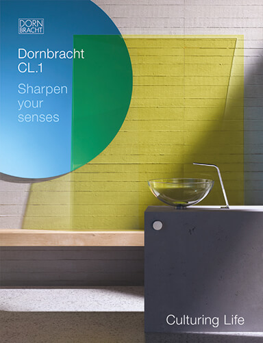 Dornbracht CL1 Catalogue Inspiration