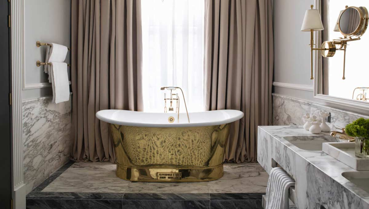 Dornbracht Bathroom Britannia Hotel Signature suite 3