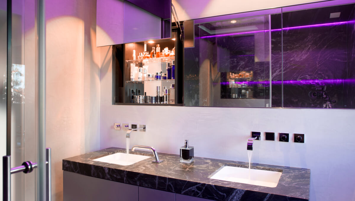 Dornbracht Mem chrome Reference luxury bathroom