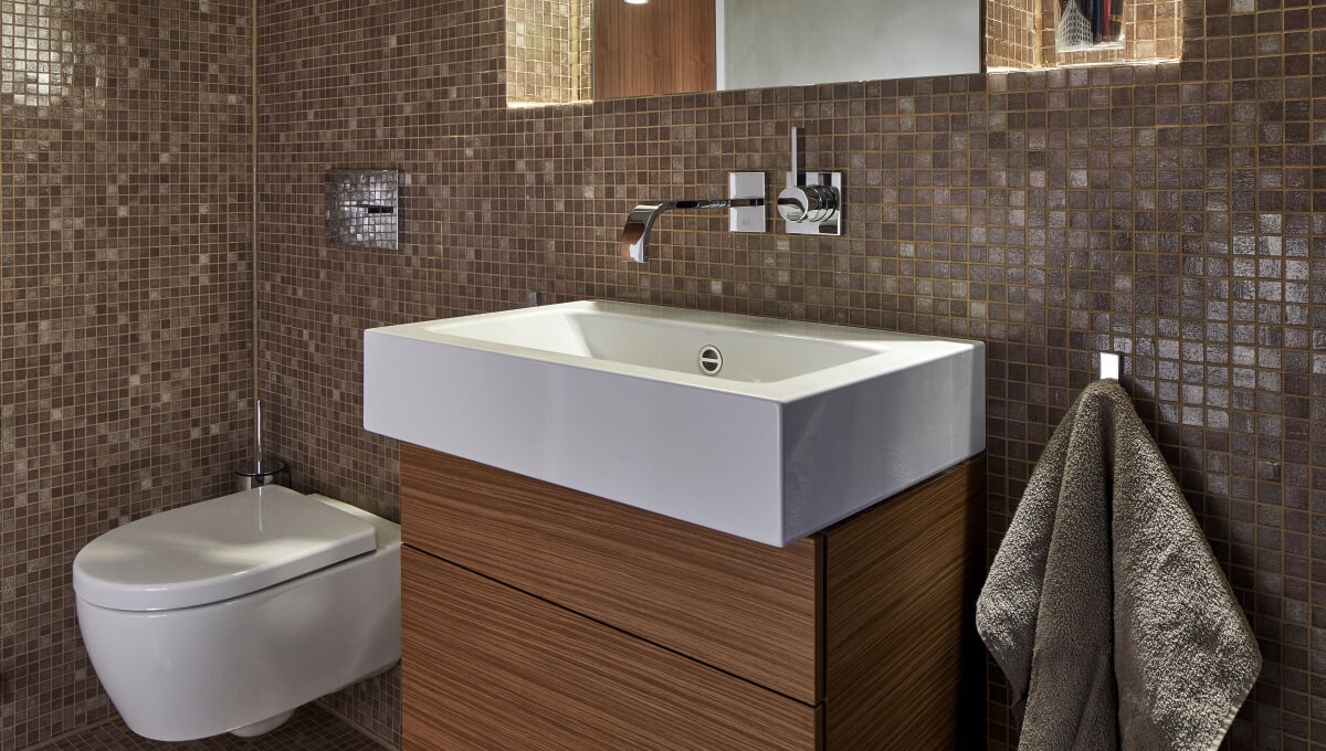 Dornbracht Mem Reference luxury bathroom Palmaille