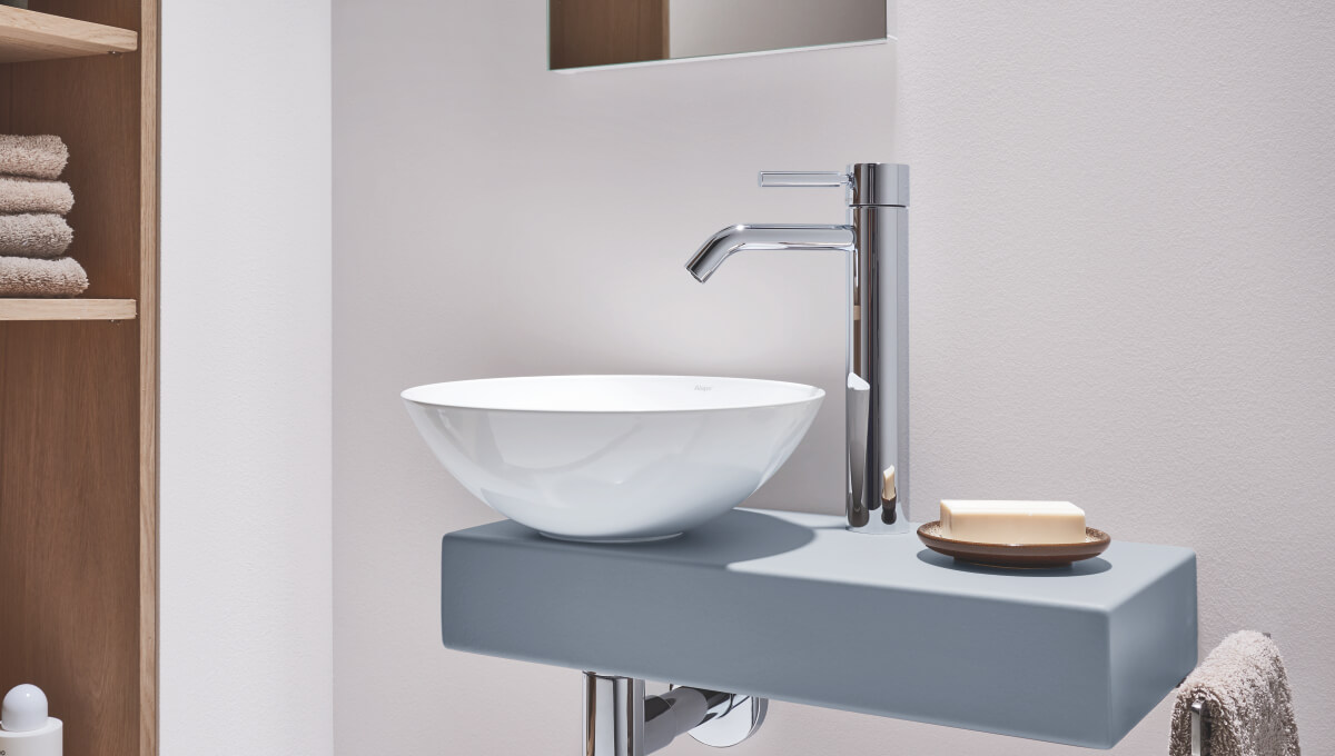 dornbracht mem chrome bathroom inspiration