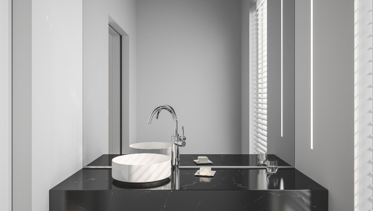 dornbracht meta chrome bathroom inspiration