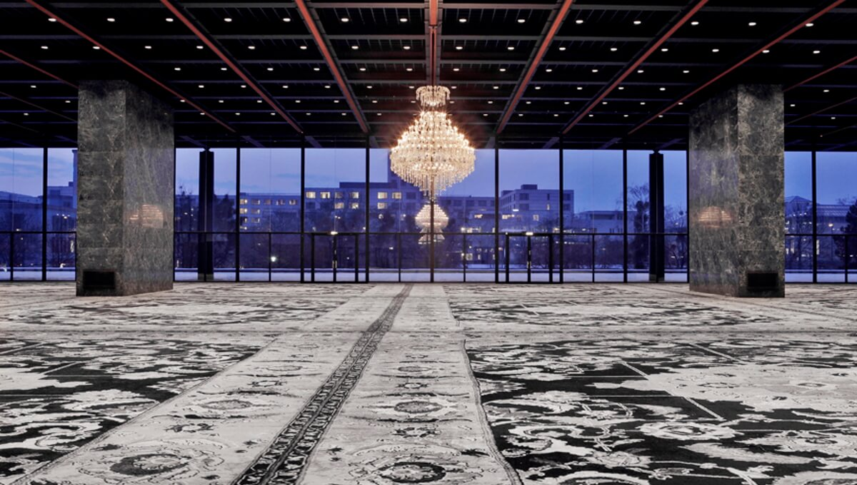 Dornbracht Culture Installations Neue Nationalgalerie Stingel