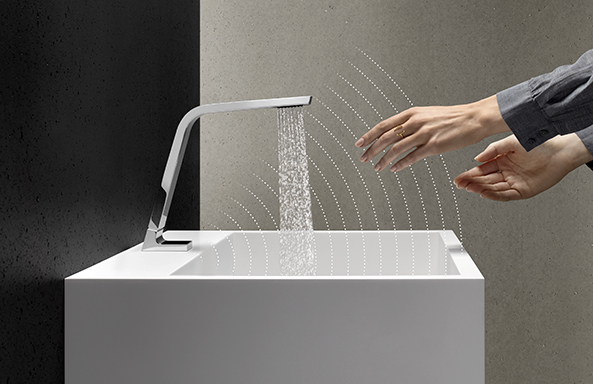 Dornbracht Touchfree chrome Bathroom