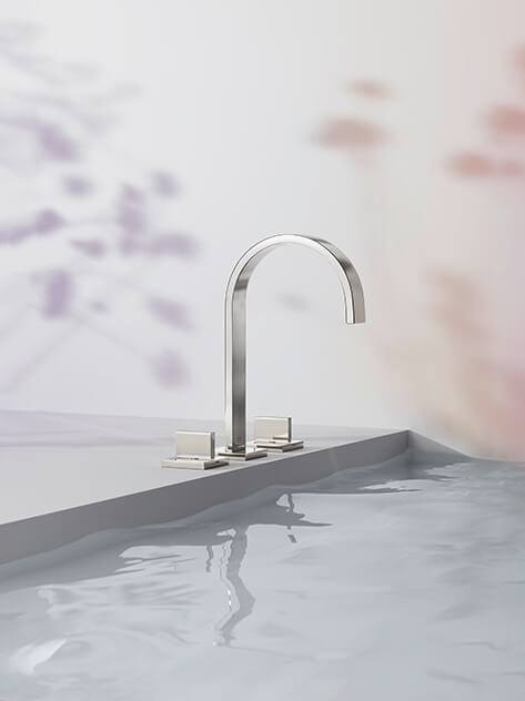 Dornbracht MEM platinum Bathroom Inspiration