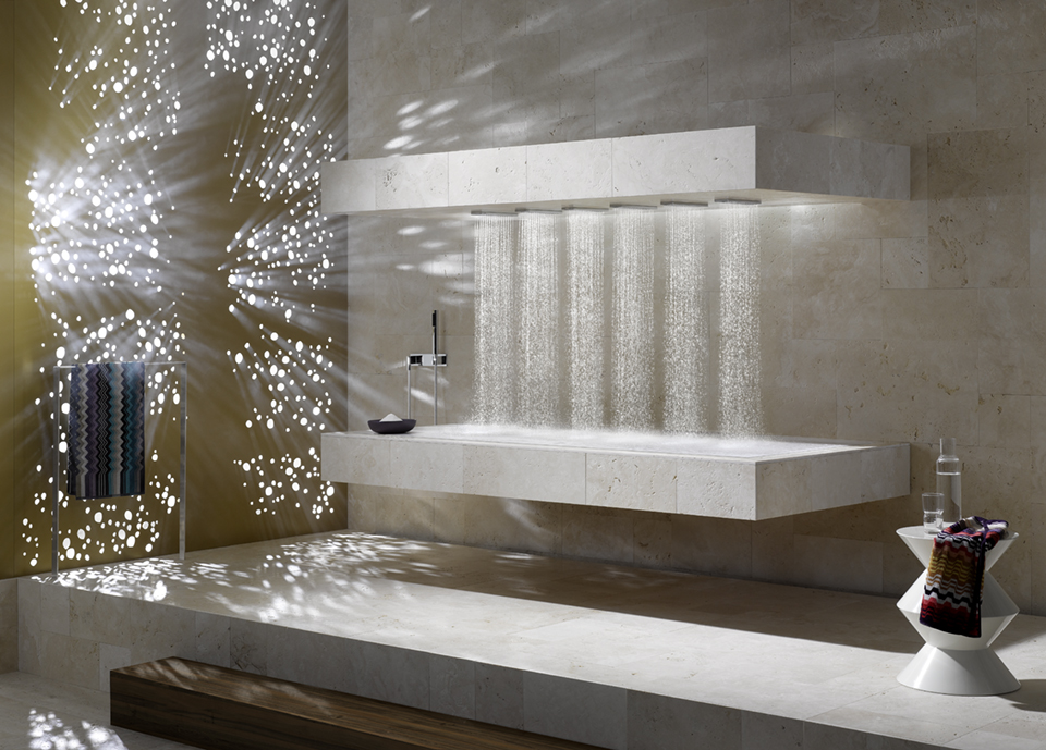 Dornbracht Experience Horizontal Shower Bathroom Inspiration