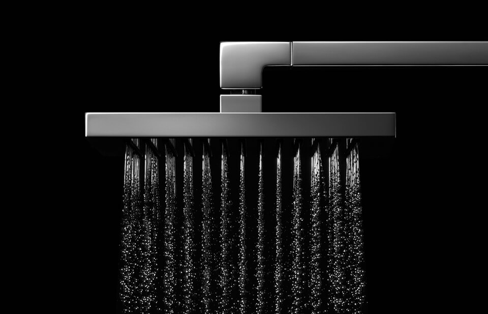 Dornbracht Rain Shower Luxury Bathroom Inspiration