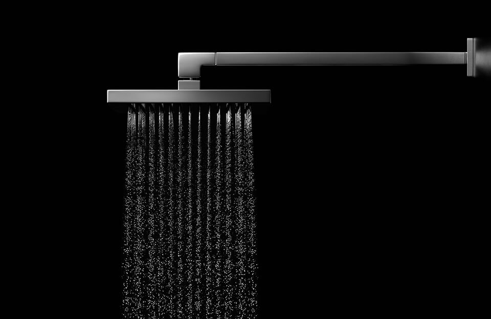 Dornbracht Rain Shower Bath Luxury Inspiration