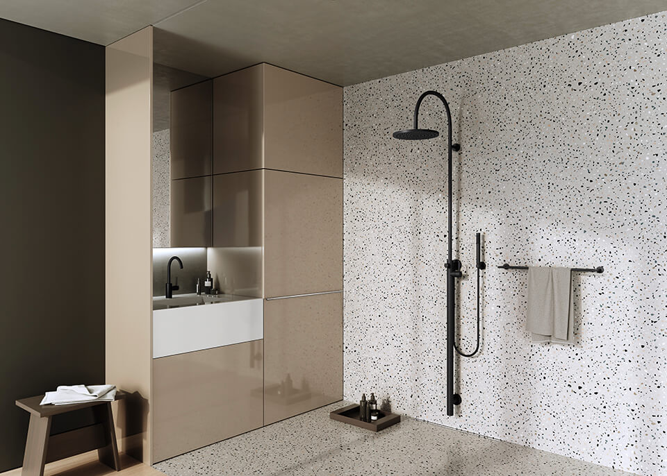 Dornbracht Rain Shower Luxus Bad Meta Inspiration