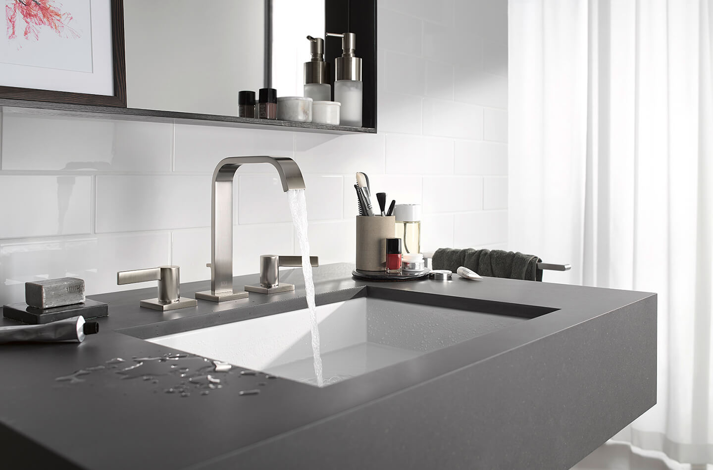 Dornbracht IMO platinum matte Bathroom Inspiration