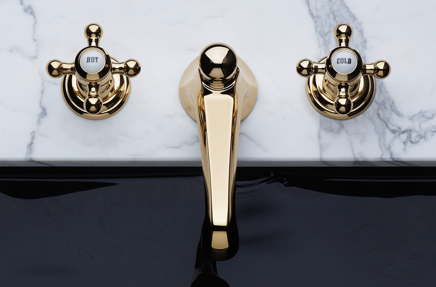 Dornbracht Madison Durabrass Luxury Bathroom Inspiration
