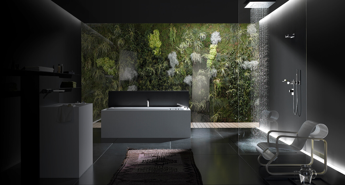 Dornbracht Symetrics chrome Bathroom Inspiration 1