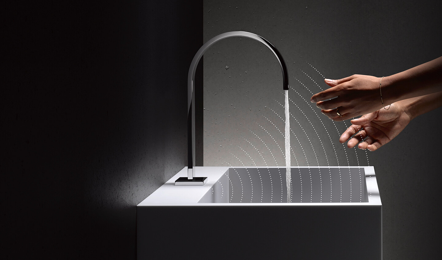 Dornbracht Touchfree chrome Bathroom Inspiration