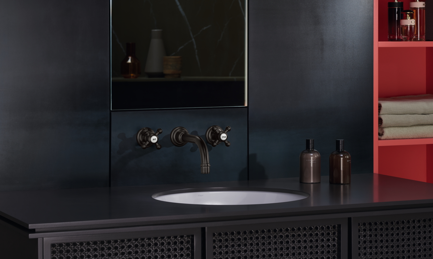 Dornbracht Bathroom Madison Dark Platinum Matte Inspiration