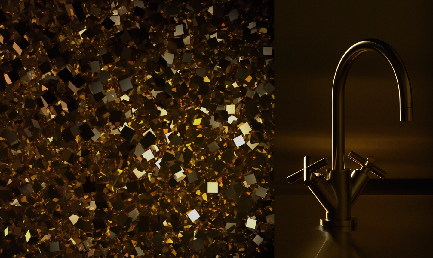 Dornbracht Tara Brass Finish Inspiration