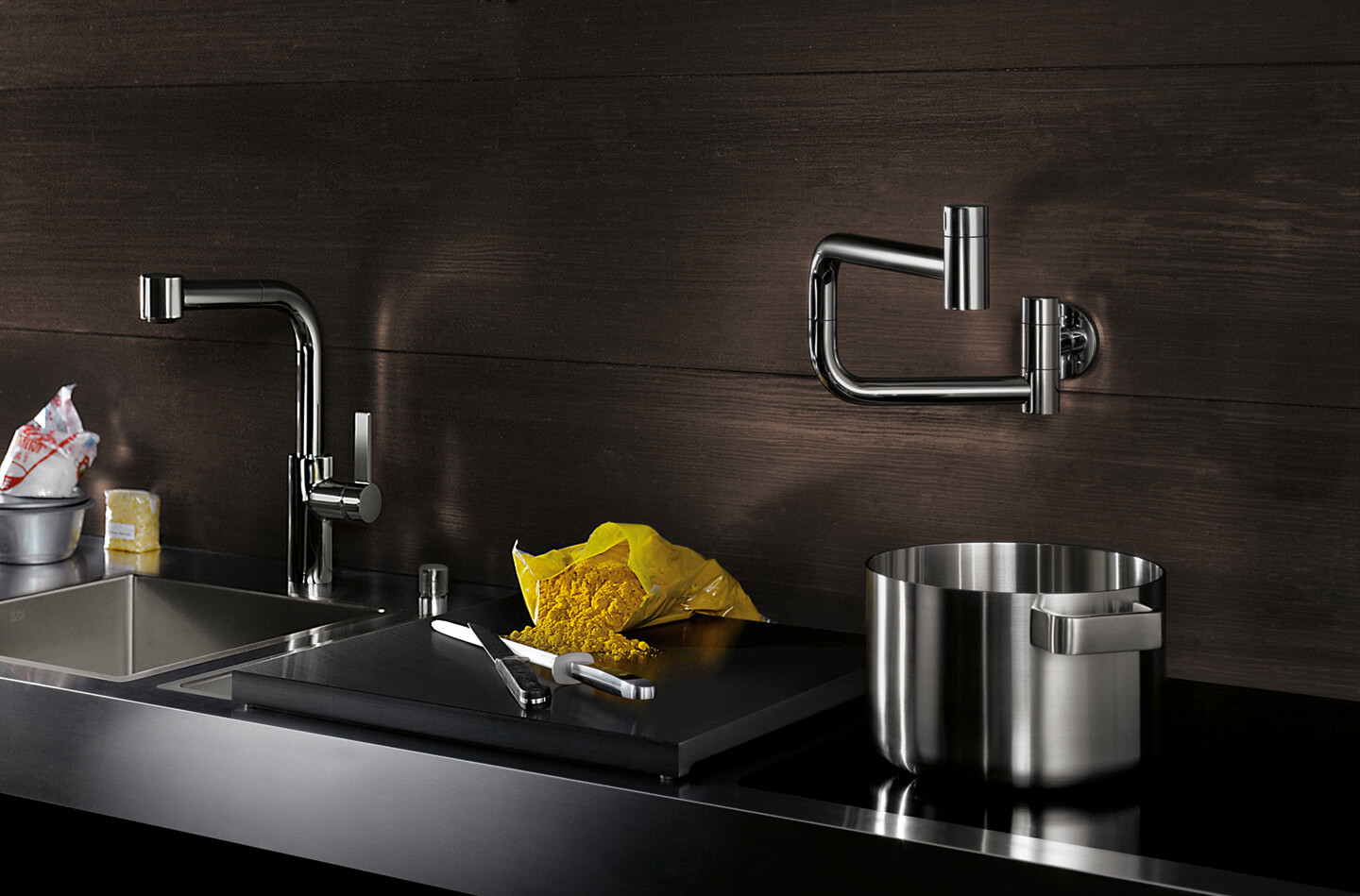 Dornbracht Tara Ultra Potfiller chrome Kitchen Inspiration