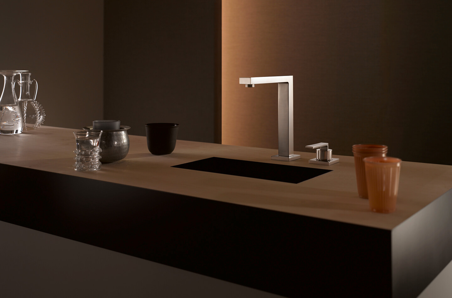 Dornbracht Lot Bar Tap chrome kitchen inspiration