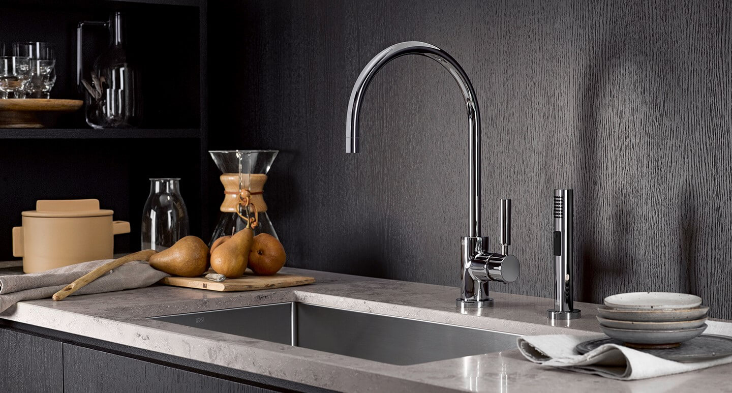 Classic Kitchen Basin Faucets with