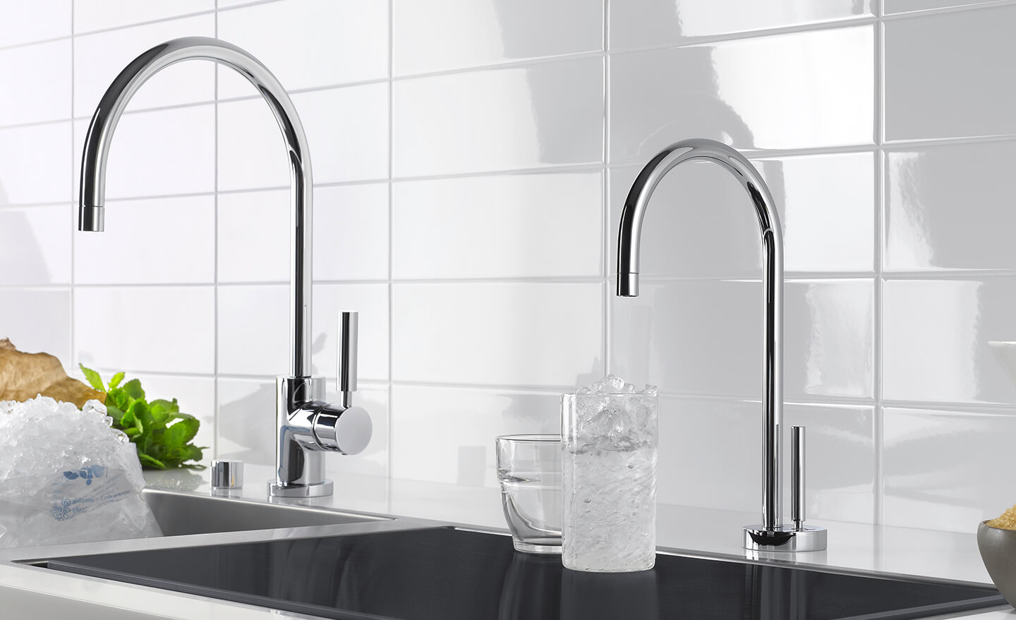 Dornbracht Tara WaterDispenser chrome Kitchen Inspiration