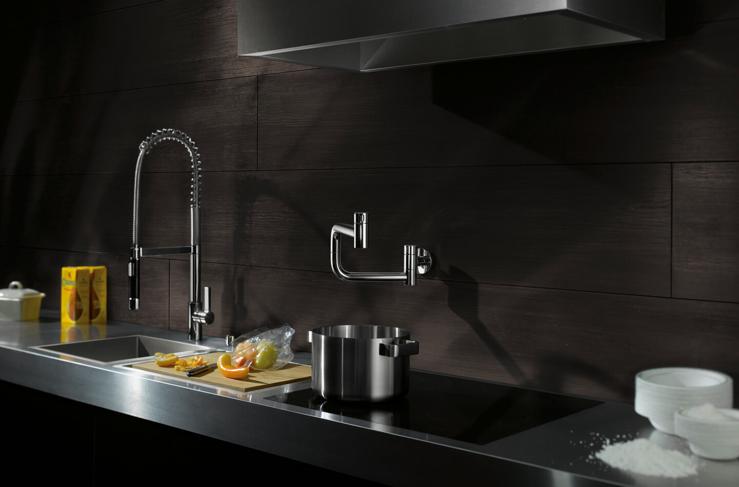 Dornbracht Potfiller chrome Kitchen Inspiration