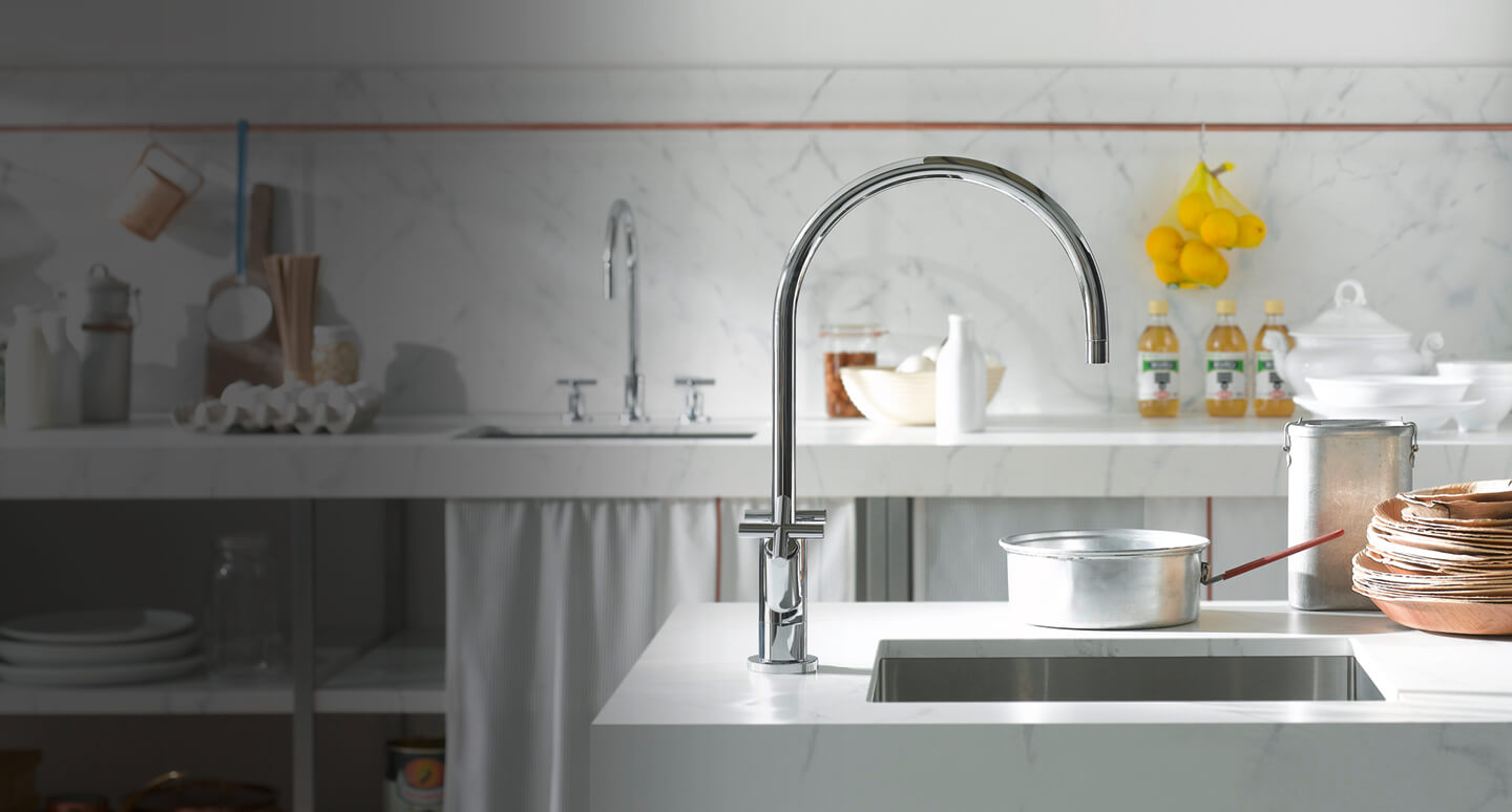 Dornbracht Tara. chrome Kitchen Inspiration