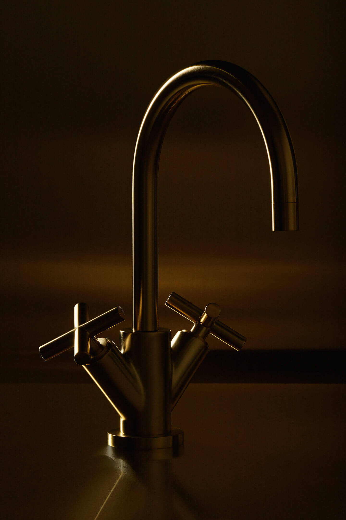 Dornbracht Tara Brushed Brass Bathroom Inspiration2