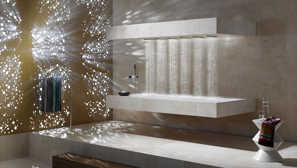 Dornbracht Horizontal Shower Wellnessdusche