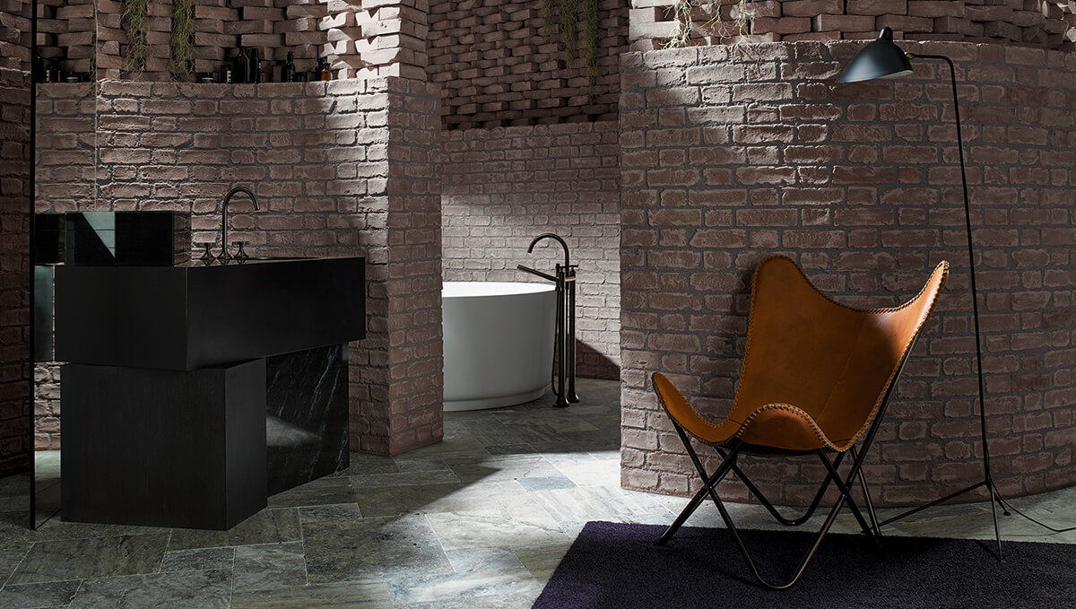 Dornbracht Vaia Dark Platinum Design Bad Inspiration