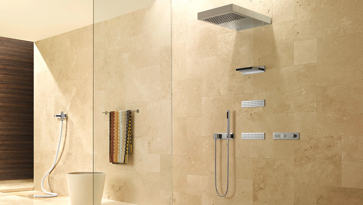 Dornbracht Vertical Shower ATT Bathroom