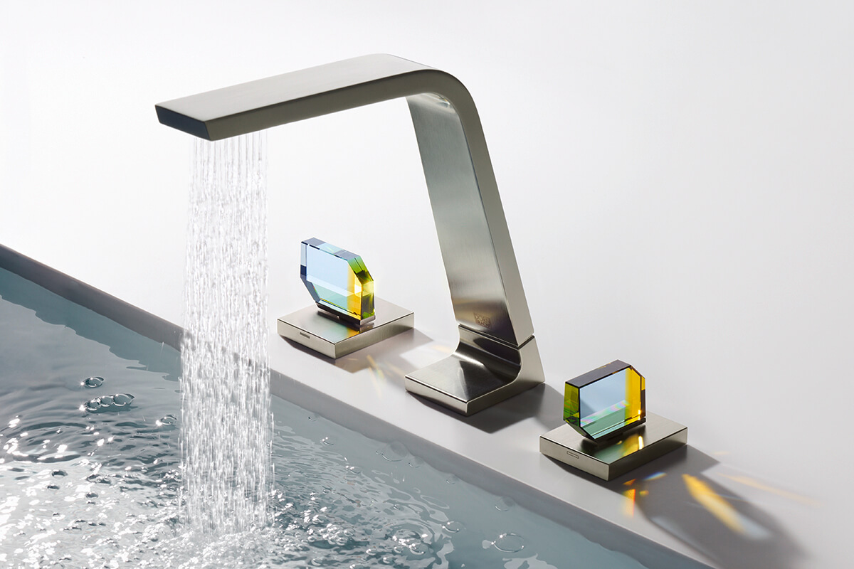 Dornbracht CL1 Crystal Handle Bathroom 6