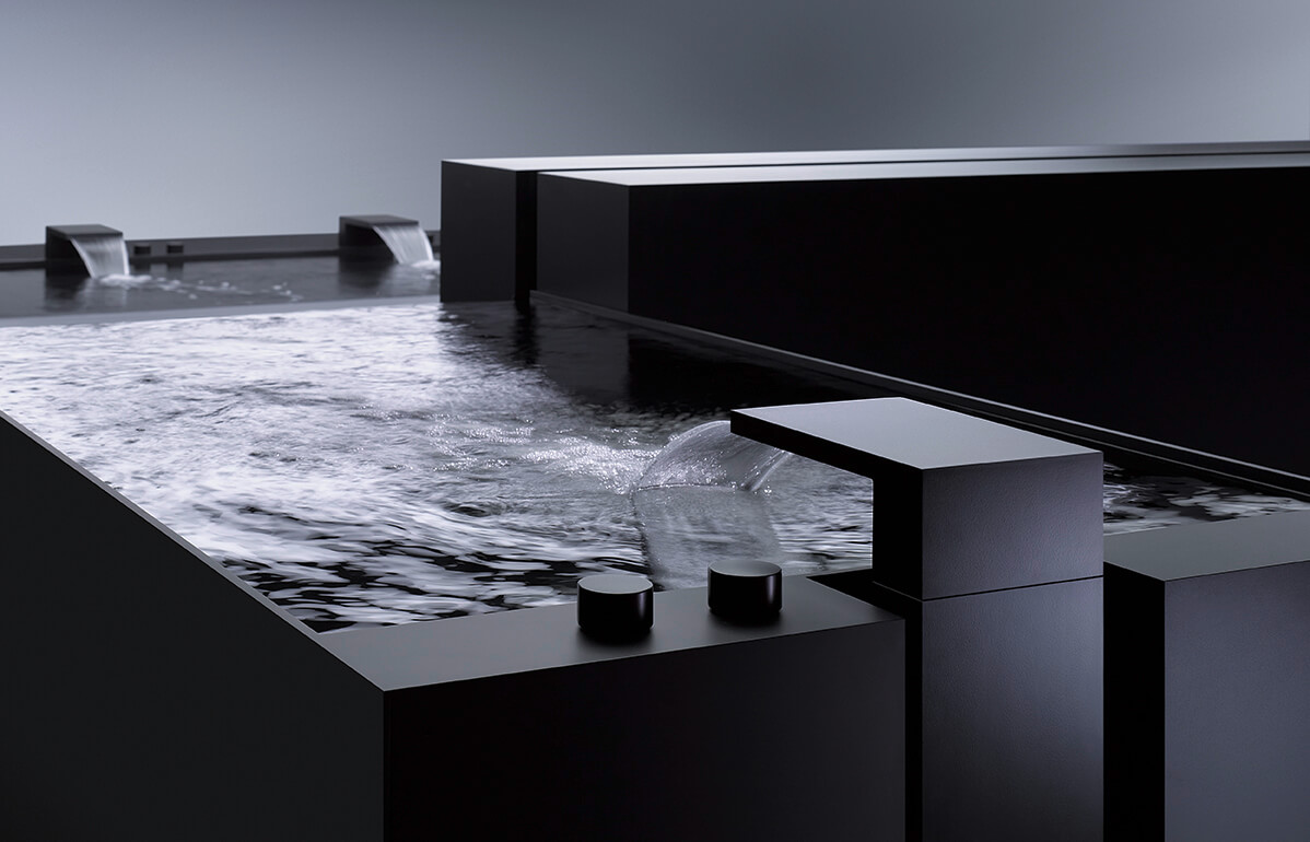 Dornbracht Deque Black Matte Luxury Bathroom Inspiration
