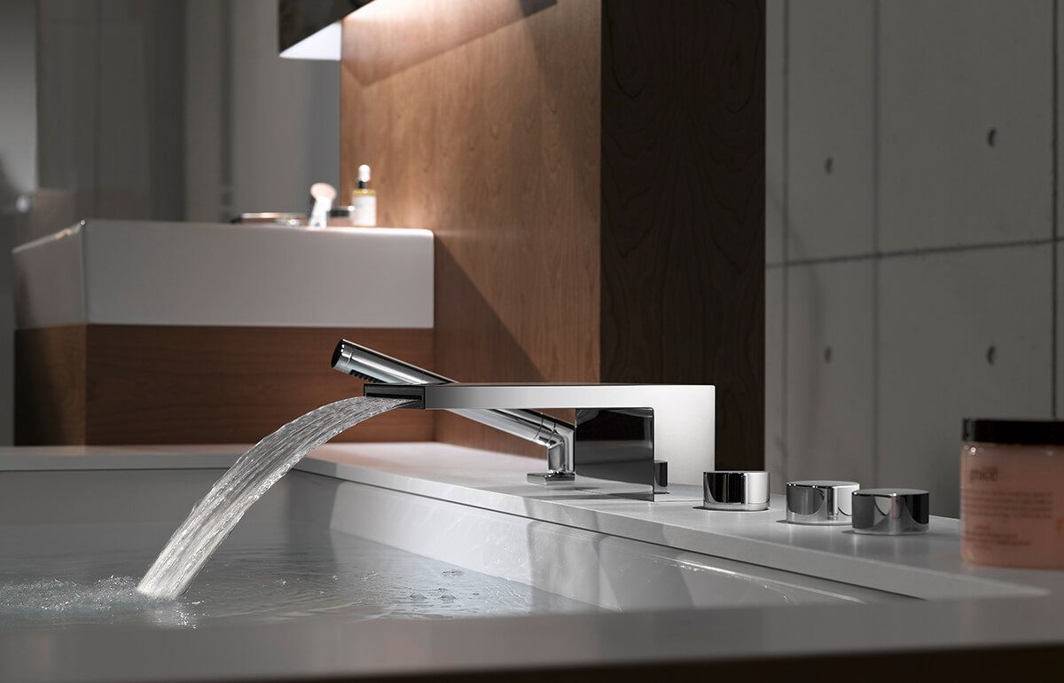 Dornbracht Deque Chrome Luxury Bathroom Inspiration