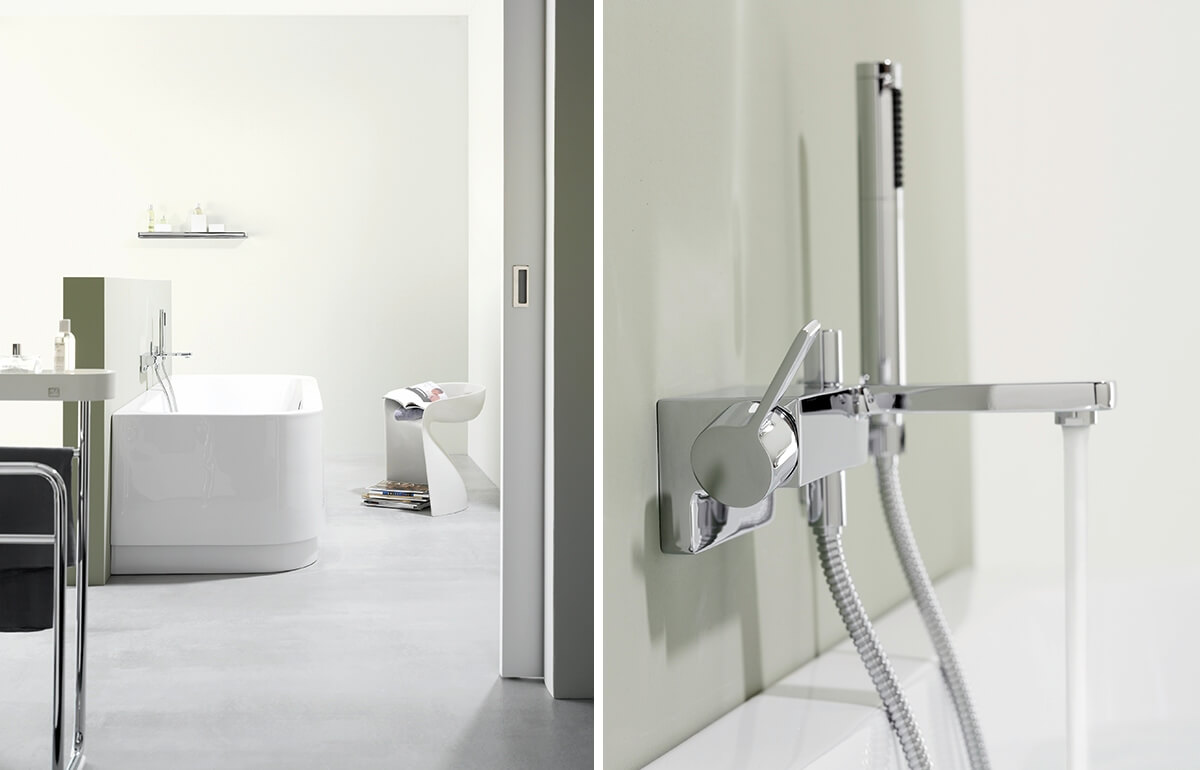 Dornbracht Lulu Chrome Bathroom Inspiration