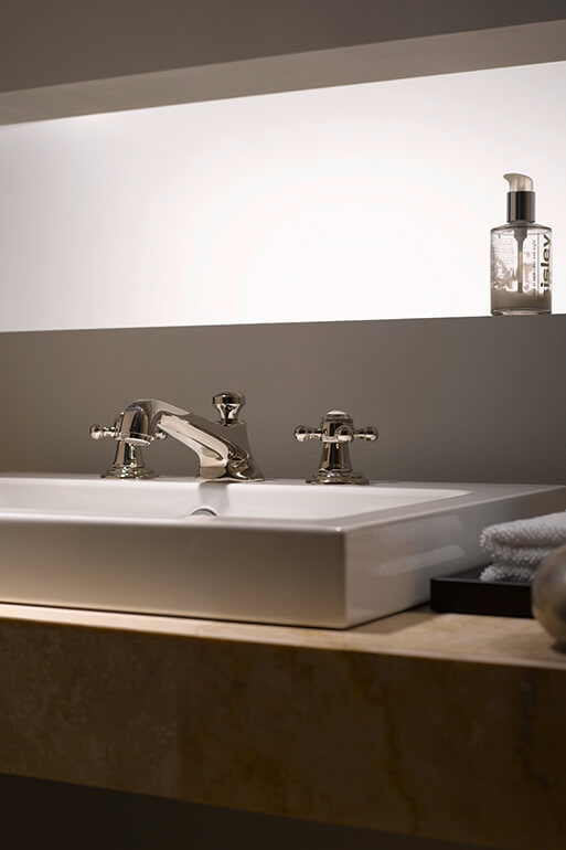 Dornbracht Madion Platinum Bathroom Inspiration