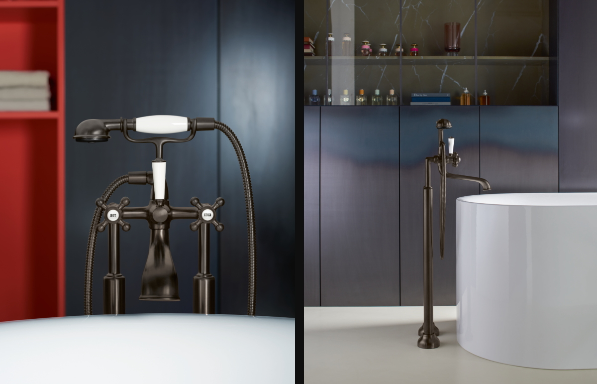 Dornbracht Madison Dark Bronze Bathroom Inspiration
