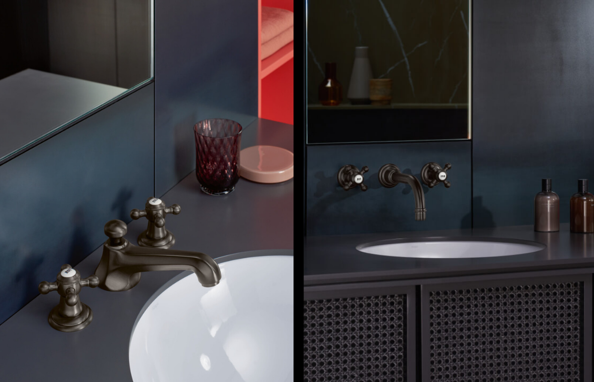 Dornbracht Madison Platinum Matte Bathroom Inspiration
