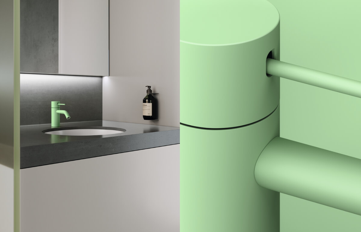 Dornbracht Meta Bathroom Architecture Collage