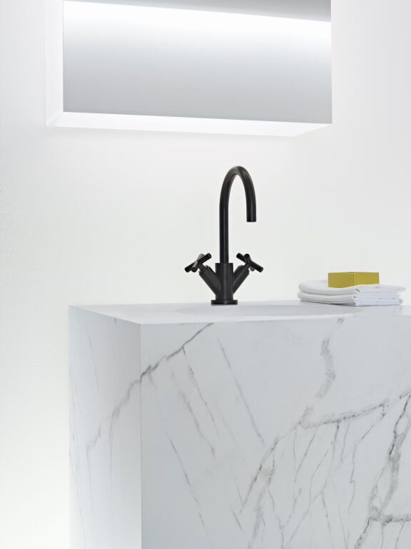 Dornbracht Tara Black Matte Bathroom Inspiration