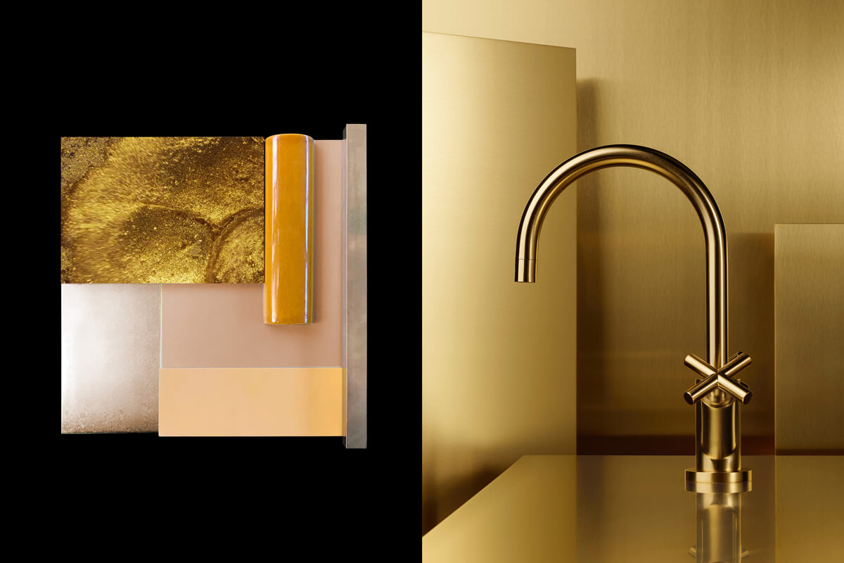 Dornbracht Tara Brass Bathroom Inspiration