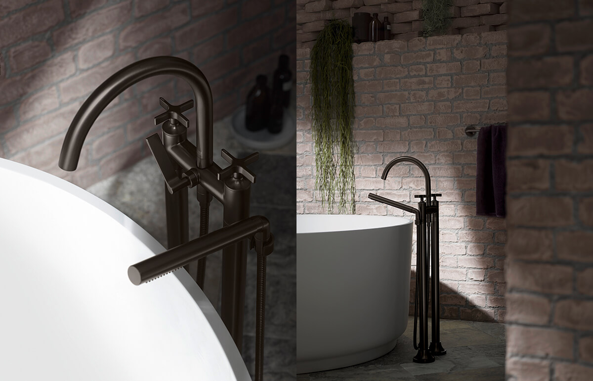 Dornbracht Vaia Dark Platinum Matt Bathroom 1