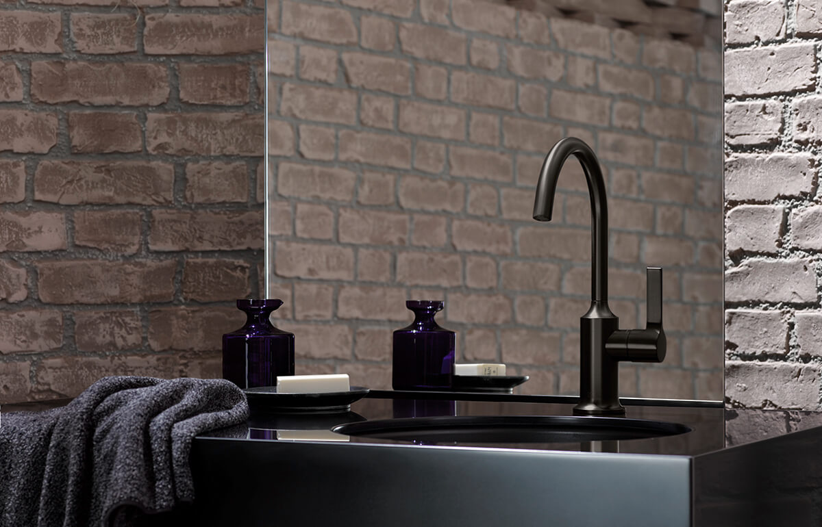 Dornbracht Vaia Dark Platinum Matt Bathroom 4