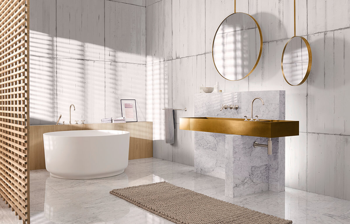 Dornbracht Vaia Platinum Matte Bathroom Inspiration 2