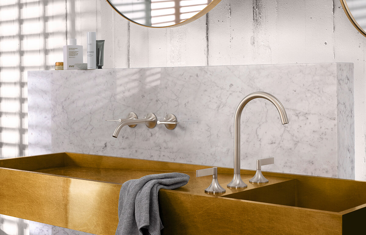 Dornbracht Vaia Platinum Matte Bathroom Inspiration 3
