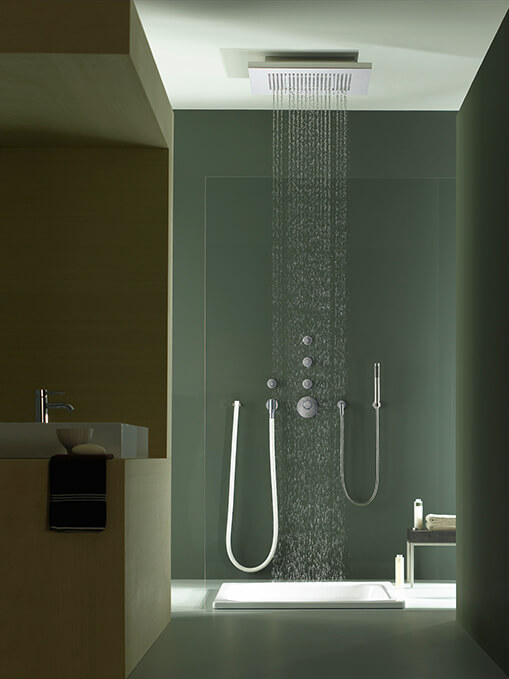 Dornbracht Rain Shower Big Rain Luxury Bath Inspiration