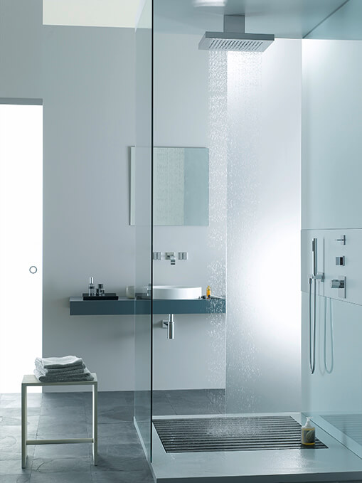 Dornbracht Rain Shower Just Rain Luxury Bath Inspiration