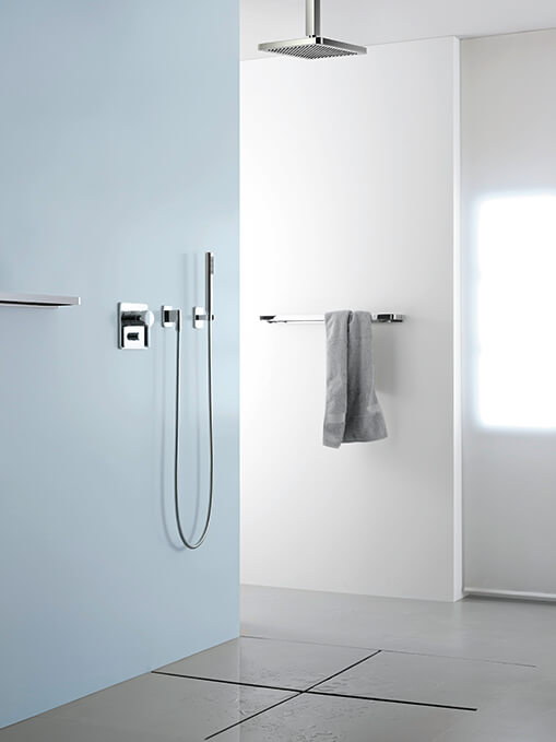 Dornbracht Rain Shower Luxury Bath Inspiration