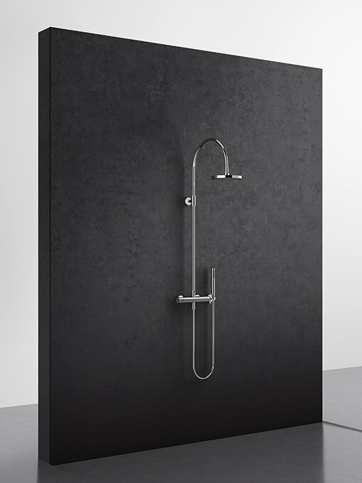 Dornbracht Rain Shower Showerpipe Luxury Bath Inspiration