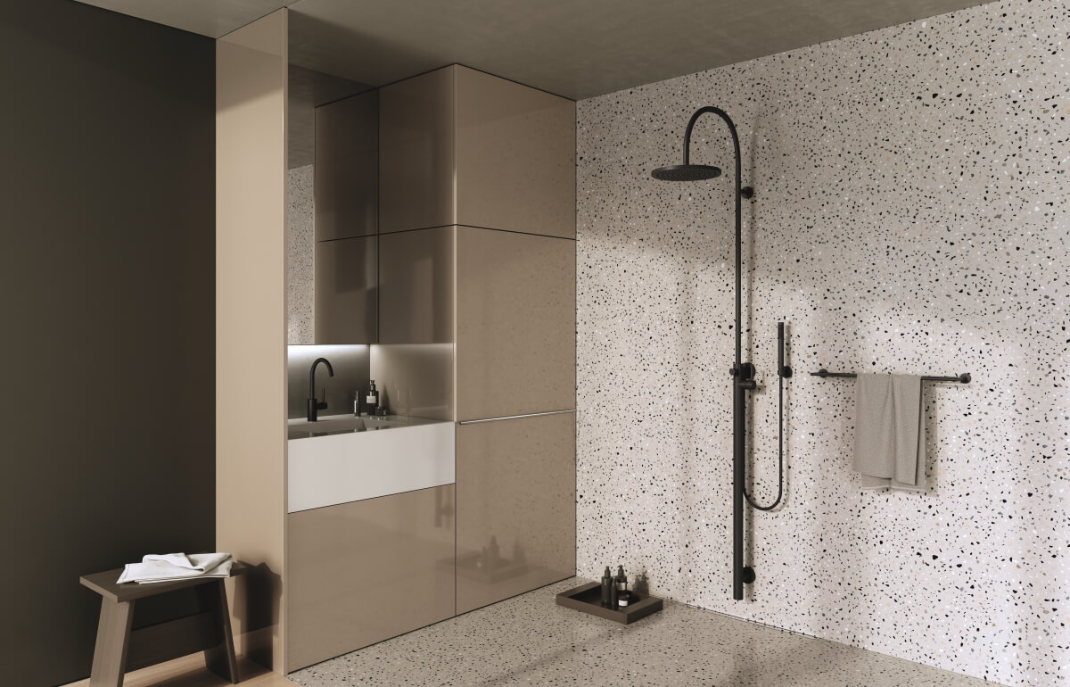 Dornbracht Bathroom Architectural Finish Meta Black