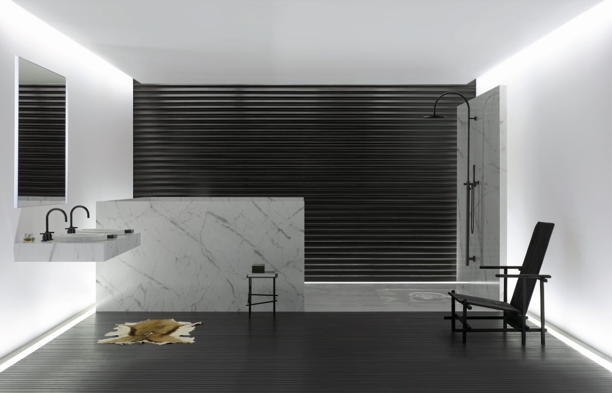 Dornbracht Bathroom Architectural Finish Tara Black