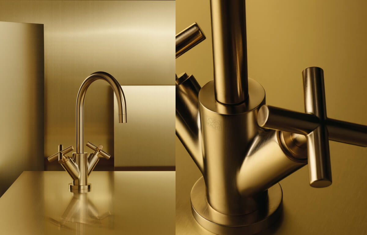 Dornbracht Brass Inspiration Tara Bathroom
